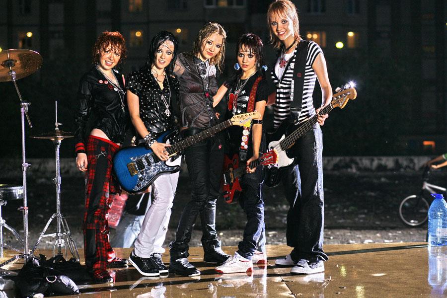 порно фото с рок группой ранетки-уо2